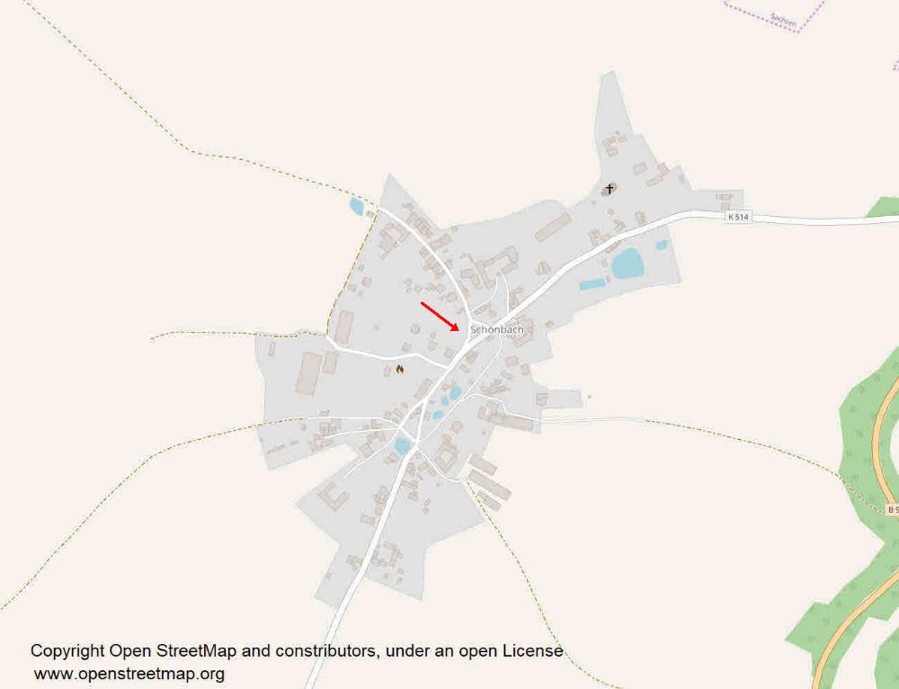 Lage in Schönbach